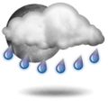 Pronostico: Unsettled, precipitation later